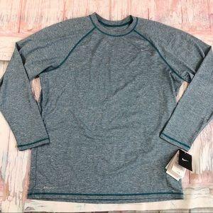 NWT Nike Dri-Fit Long Sleeve w UPF 40+ Protection